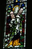 Christchurch Cathedral, stained glass - Moses