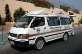 Shuttle bus for the Red Sea Diving Safari from Hurghada to Marsa Alam