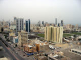 Sharq district of Kuwait City from the Arraya Centre