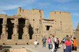 Temple of Horus, Edfu, is the 2nd largest in Egypt after Karnak