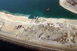 Foundations for the Atlantis Hotel on the ring of Palm Jumeirah