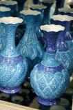 Iranian enamelled copper vessels
