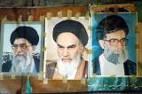 Khamenei, Khomeini and another Khamenei