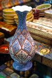 Seven-color enamel vase, Isfahan