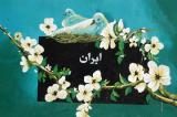 Iran with flowers and doves