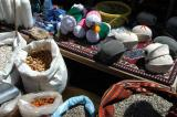 Items for sale at the nomad camp