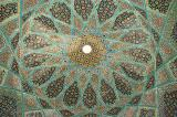 Dome of the central pavilion, Tomb of Hafez
