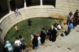 Visitors to the gardens of the Tomb of Sa'di during No Ruz