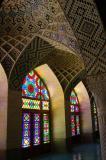 Winter prayer hall, Nasir-ol-Molk Mosque, Shiraz, Iran