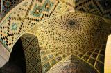 Mosaic tiles, winter prayer hall