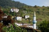 The white minaret of Şirince