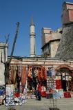 Shops outside the Aya Sofya
