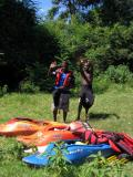 2 of the kayakers that came with us