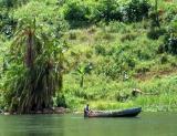 Ugandan canoe
