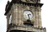 Clock face of the clock tower at Dolmabahce Palace, 1890-1894 for Sultan Abdulhamid II