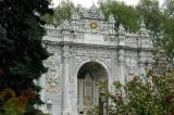 Another gate to Dolmabahce Palace