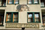 Mosaic on the House of Zeugma, Akbiyik Caddesi, Sultanahmet