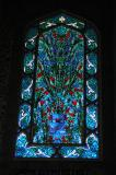 Stained glass window, Twin Pavilions