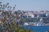 View of the Golden Horn looking across to northern Istanbul