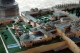 Model of Topkapi Palace - northern part