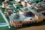Model of Topkapi Palace - detail of the Baghdad Kiosk and the Fourth Court