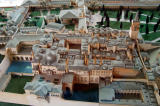Model of Topkapi Palace - the Harem