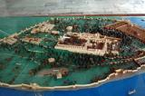 Model of the whole of Topkapi Palace and the surrounding First Court
