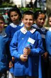 Young Turkish schoolboy in uniform