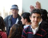 Turkish high school student