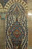 Beautifully tiled Antechamber, Harem