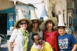 Italian Tourist Group with Solomon at Shibam Hdramout