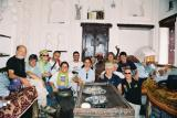 Italian Tourist Group with Solomon at Zabid Old House
