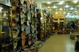 Tunisian handicrafts for sale in the Tunis medina
