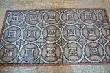 Geometric pattern floor mosaic, Ground Floor