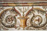 Floral and geometric mosaic, Bulla Regia