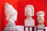Heads of statues, Bardo Museum