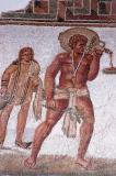 Slave serving at a banquet, Dougga, 2nd C. AD
