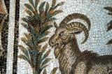 Mosaic of a ram