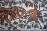 Satyr leading Bacchus' chariot, Thysdrus (El Jem) 3rd C. AD
