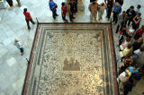 Floor mosaic in the grand reception hall, Musee du Bardo