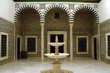 Traditional Islamic Courtyard, 19th C. Husseinite style, Bardo Museum