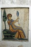 A modern mosaic in Slim's garden