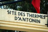 Site des Thermes d'Antonin - Antonine Baths