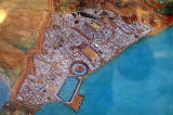 Artist's impression of Punic Carthage - the city of Hannibal