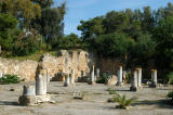 Ruins of a 3-naved Christian basilica, Carthage, 6th C. AD