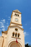 Old French colonial era church in Enfida, Tunisia
