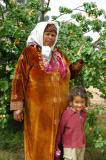 Tunisian woman and her daughter