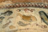 Mosaic of fish and sealife, 4th-5th C. AD, Sbeitla