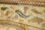 Mosaic of fish and sealife, Private Baths, Sbeitla