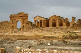 Forum, Three Temples and Arch of Antonius Pius, Sbeitla